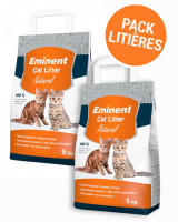 PACK LITIERE EMINENT Natural 10 kg