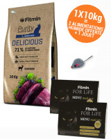 PACK FITMIN PURITY DELICIOUS 10 kg acheté = 2 menu meat mix + 1 jouet offert